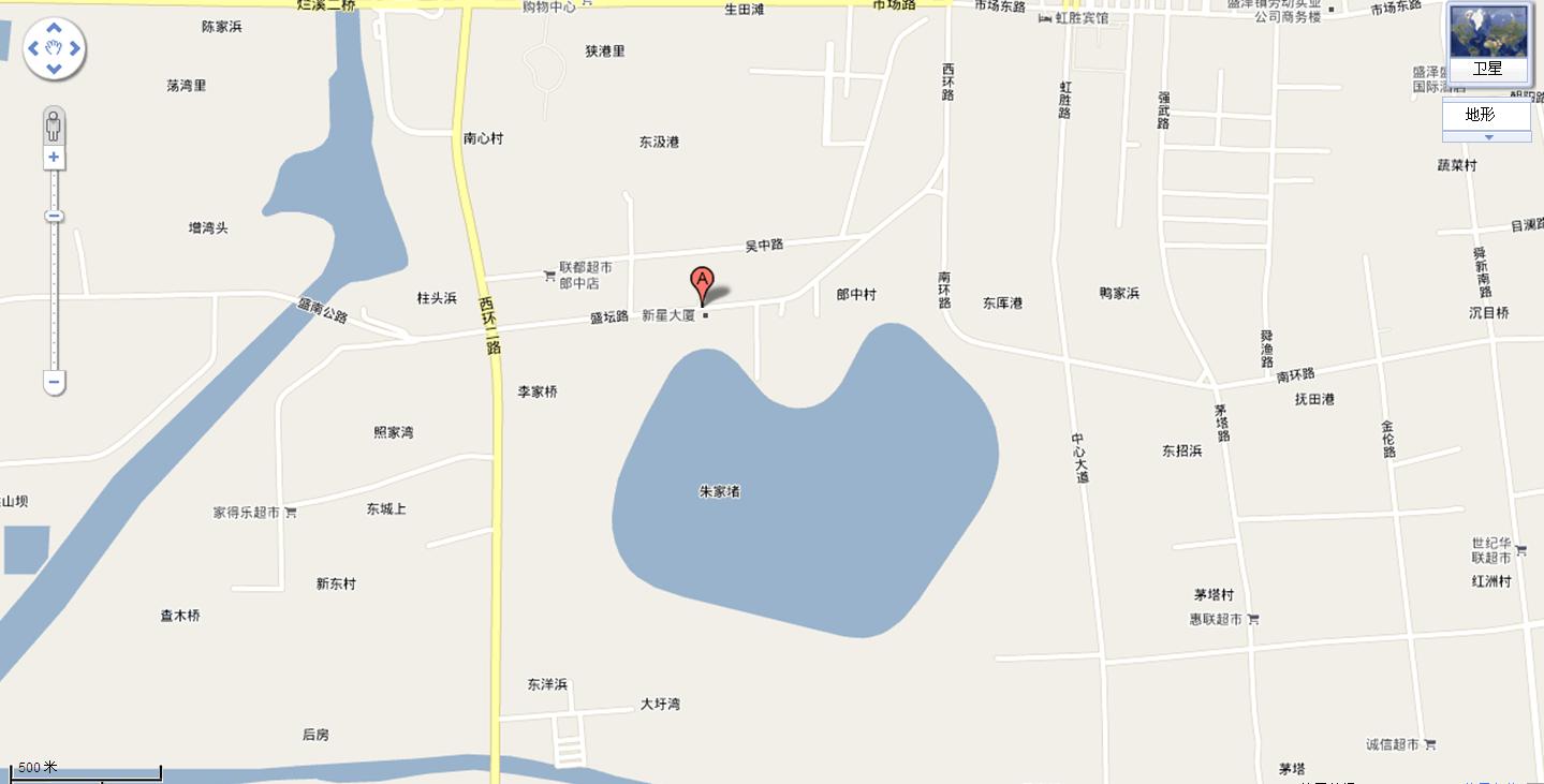 苏州吴江盛地图